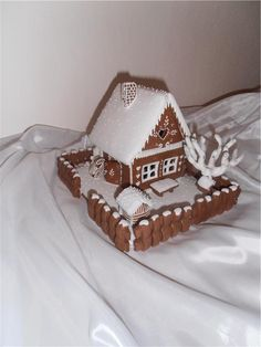 Verči do školky a moje pátá chaloupka Ginger House, Merry Christmas, Xmas, 3d Shapes, Bread Baking, Baked Goods, Gingerbread, Projects To Try, Creations
