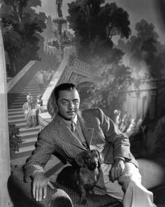 William Powell and pal
