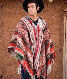 Sonqo Master Weaver Peruvian Poncho