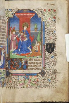 Book of Hours, MS M.105 fol. 85r - Images from Medieval and Renaissance Manuscripts - The Morgan Library & Museum