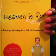 """""""Heaven is for real"""" is such a great read. And thats coming from Carlito, someone who never reads."""