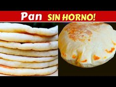 PAN PITA Pan ÁRABE SIN HORNO! Pocos ingredientes Dulce Hogar Recetas - YouTube Bread Recipes, Keto Recipes, Healthy Recipes, Mexican Food Recipes, Dessert Recipes, Desserts, Pita Bread, Empanadas, Bread Baking