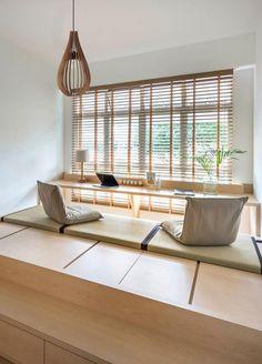 Modern Japanese Interior, Japanese Interior Design, Japanese Home Decor, Japanese Style House, Japanese Living Rooms, Japanese Bedroom, Japanese Inspired Bedroom, Maison Muji, Muji Home