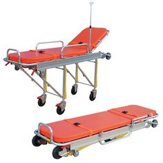 Semi-automatic Ambulance Stretcher