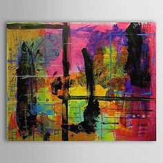 Hand Painted Oil Painting Abstract 1303-AB0417 – USD $ 69.99