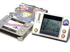 Popy/Bandai LCD Game Watch Dr. Slump Arale Gatchan Kazi Kazi (Box is damaged) #PopyBandai