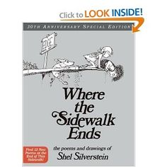 A classic with quirky, entertaining poems for children and adults.  Where the Sidewalk Ends: Poems and Drawings - Shel Silverstein  Amazon.com
