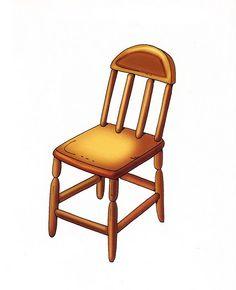 silla House Clipart, Dining Chairs, Clip Art, Furniture, Scrap Books, Home Decor, Preschool, Doll, Illustrations