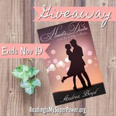 Author Interview (and a Giveaway!): Andrea Boyd & Heart's Desire - Reading Is My SuperPower