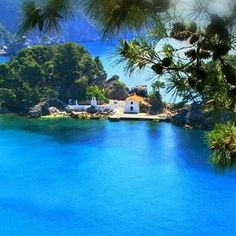 Beautiful Parga, Epirus, Greece Dream Vacations, Vacation Spots, Places To Travel, Places To Visit, Beautiful Places, Beautiful Pictures, Places In Greece, Ocean Pictures, Paradise On Earth