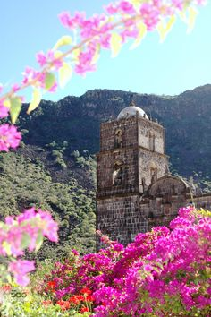 Misson of San Javier in Loreto, Baja California Sur, Mexico