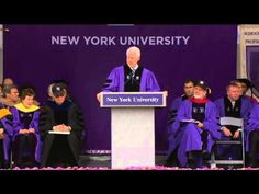 President William J. Clinton -- Founder of the William J. Clinton Foundation and 42nd President of the United States -- addressed the graduates at today's ceremony on behalf of the honorary degree recipients. President Clinton received a Doctor of Laws degree, honoris causa. http://www.nyu.edu/life/events-traditions/commencement.html
