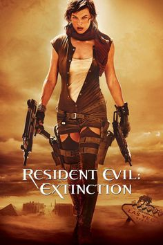 Years after the Racoon City catastrophe, survivors travel across the Nevada desert, hoping to make it to Alaska. Alice joins the caravan and their fight against hordes of zombies and the evil Umbrella Corp.