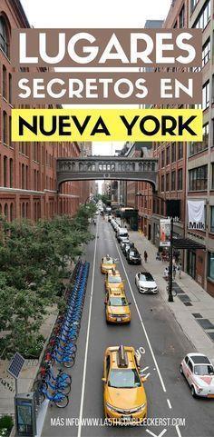 10 lugares secretos en Nueva York - Yarn Tutorial and Ideas Places To Travel, Travel Destinations, Places To Go, Travel Guides, Travel Tips, Washington Dc, Travel Around The World, Around The Worlds, Travelling Tips