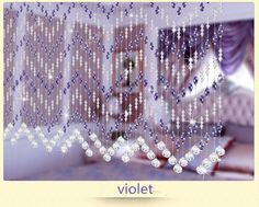 crystal glass beads curtain for hotel office or home decor hanging door beads curtain christmas