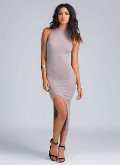 Make A Mockneck Knit Dress PINK