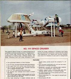 Playgrounds from the '70s