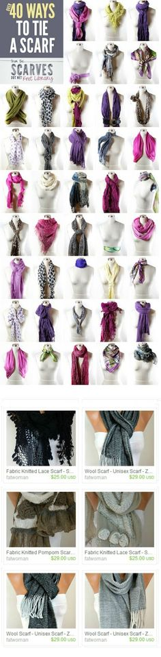 Scarf on ETSY...
