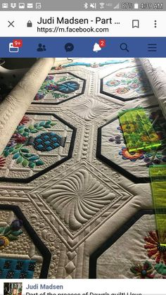 Mail - LISA SCHOFIELD - Outlook Machine Quilting Patterns, Quilting Templates, Longarm Quilting, Free Motion Quilting, Quilting Projects, Quilt Patterns, Quilting Ideas, Quilt Stitching, Applique Quilts