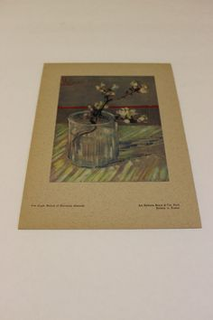 Van Gogh Branch of Blooming Almonds Print Chefs-D'Oeuvre De L'Art Impressions