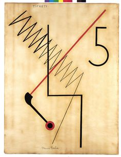 Francis Picabia, Tickets - 6