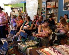 #PBD Day 2013 at @Right Start in Denver! #breastfeeding #bfing @The Bump @Boppy Company