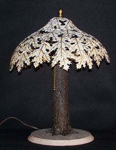Just for the idea. - This shows a gourd lamp shade, but I want to try and make something like this with clay.
