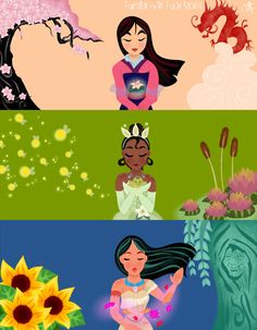 "virtual-spell: ""My new princess drawing!!! Which is your favourite one? I hope you like it :D """