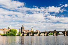 "Visit Prague the ""Golden City"" on the Vltava river. Day Trips From Vienna, Prague Guide, Vienna State Opera, Visit Prague, Free Hotel, Bus Travel, Day Tours, Walking Tour"