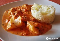 Hungarian Recipes, Hungarian Food, Mashed Potatoes, Cauliflower, Food And Drink, Chicken, Vegetables, Ethnic Recipes, Tomato Sauce Recipe