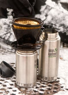 The Official Coffee Lover's Camping Guide via Brit + Co.