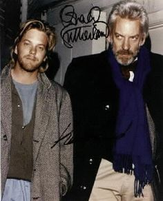 Kiefer  Donald Sutherland. Type 2 and Type 4, awesome.