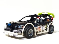 Lego Technic Ford Fiesta Rc Quot Drift Quot Car With Building