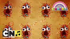 Bakteria   Niesamowity świat Gumballa   Cartoon Network