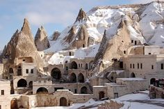 Cave Village in Turkey. This Web site has cool stuff!