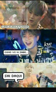 Read Imagens Para Telemóveis from the story BTS memes by (Mulher do Hobi♥) with reads. Bts Memes, Bts Meme Faces, Bts Suga, Bts Taehyung, Bts Bangtan Boy, Foto Bts, Frases Bts, Bts Big Hit, Min Yoonji