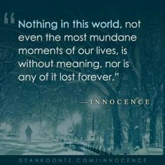 Nothing in this world...