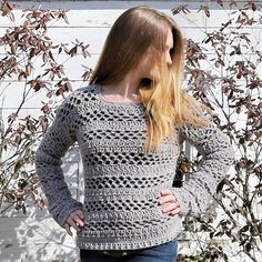 The Madeline Sweater an each beginner free crochet pattern