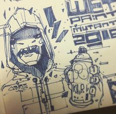 Graffiti Pictures, Drawing Sketches, Drawings, Cyberpunk Character, Sculpting, Character Design, Artwork, Character Ideas, Sculpture