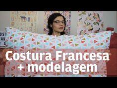 Como fazer uma fronha ou capa de almofada com acabamento perfeito + Modelagem | Costura Francesa - YouTube