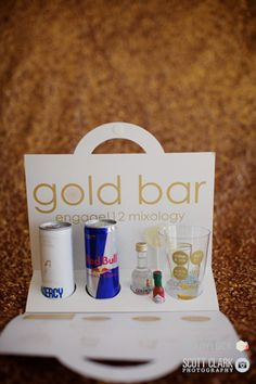 Wedding Welcome Bags Mini Bar Diy Cute Drinks Energy