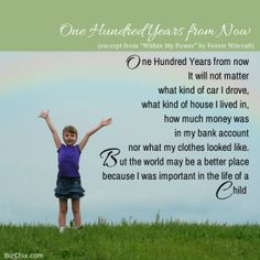 """One Hundred Years from Now (except """"Within My Power"""" by Forest Witcraft) from Episode 91: Blogger, Educator, Freelance Writer, Pinterest Consultant Kim Vij - BizChix.com"""