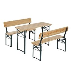 With its classic time-proven design, portable picnic table really ...