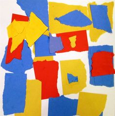 Artsonia Art Museum Primary Colors: inspired by Alma Woodsey Thomas""