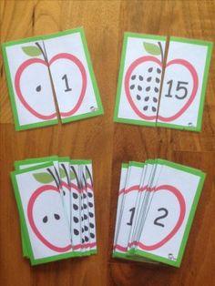 Risultati immagini per montessori material selber machen kindergarten Montessori Materials, Montessori Activities, Preschool Learning, Toddler Activities, Preschool Activities, Space Activities, Preschool Apples, Montessori Infant, Kindergarten Math Activities