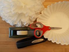 Coffee Filter Flowers - tools