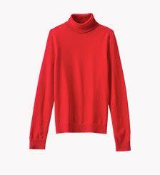 Long Sleeve Classic Cashmere Turtleneck #SweaterWeather #LandsEnd