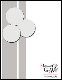 Stampin' Gals Gone Wild Weekend Challenge!  January 16, 2015  www.SimplySimpleStamping.com