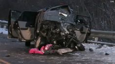 Police in Prescott, Wisconsin, say 34-year-old Kari Jo Milberg was distracted by a Facebook chat when she lost control of her SUV and slammed into an oncoming truck in December 2013. Milberg's 11-year-old daughter and her two nieces died as a result of the crash. Milberg, who was in a coma after the crash, says she doesn't remember what happened.