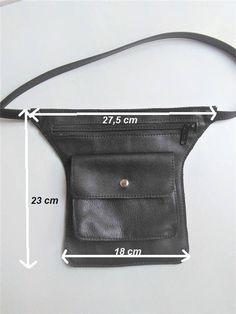Fanny Pack Pattern - Sewing Pattern to Make This Cute Belt Bag Leather, Leather PDF Leather Bum Bags, Leather Bags Handmade, Fanny Pack Pattern, Sewing Lessons, Belt Pouch, Tote Backpack, Hip Bag, Leather Accessories, Leather Working